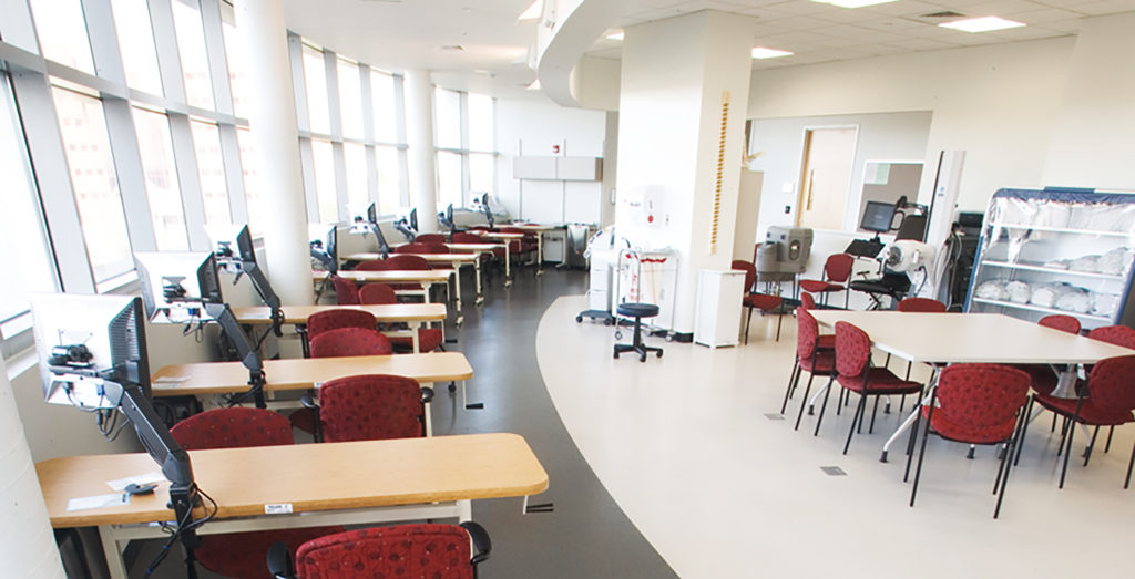 rubber flooring for medical rehabilitation centers