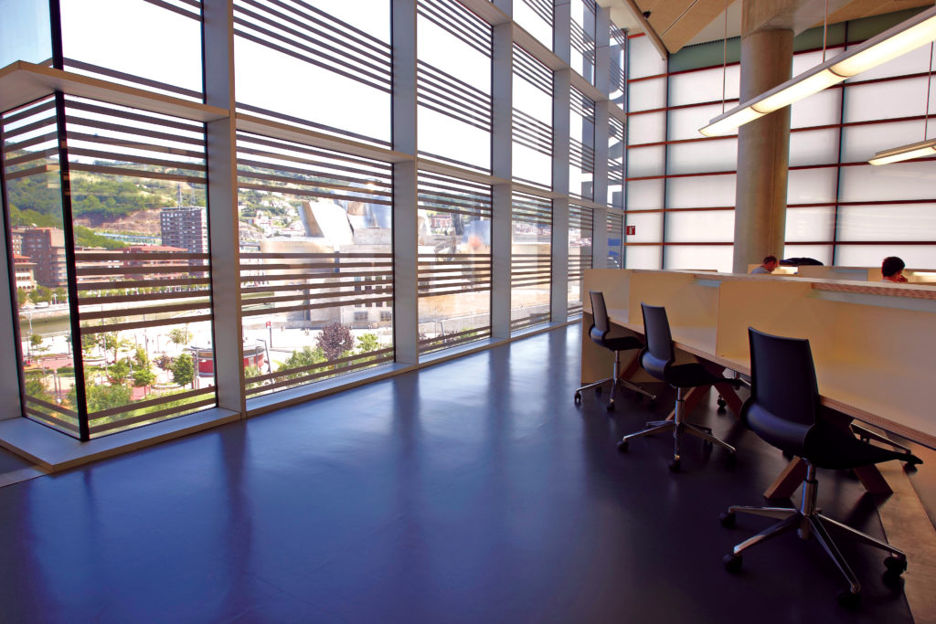 University of Deusto rubber flooring project