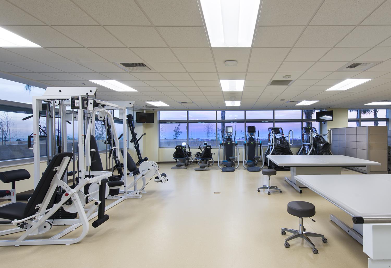 Hospital Fitness Room