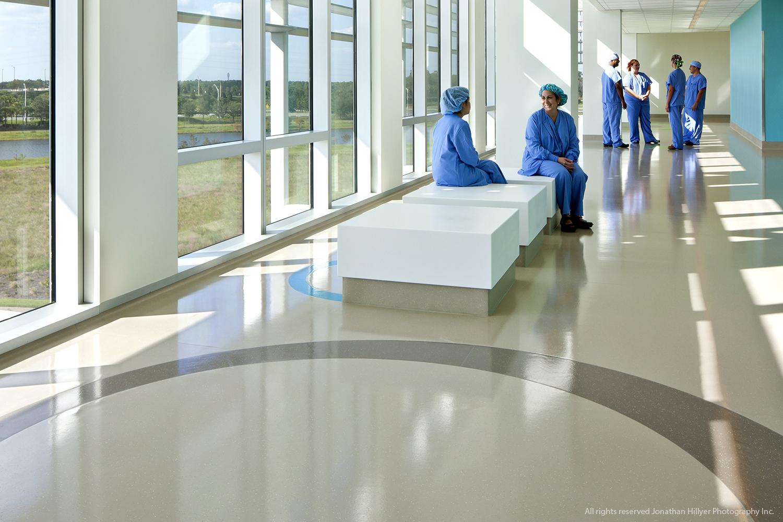 Rubber Flooring At Nemours Children S Hospital Mondo