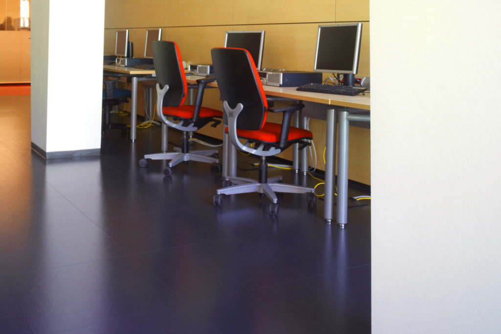 Vodafone offices, Flooring
