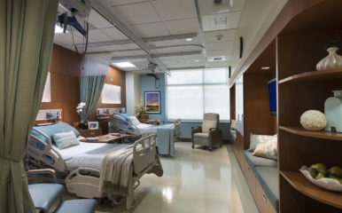 Camp Pendleton Patient Room