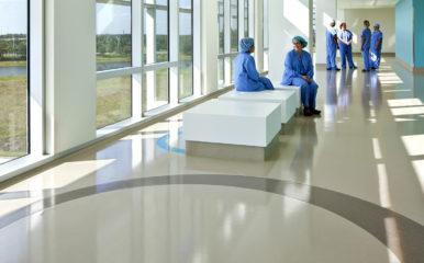 Nemours Childrens Hospital, Mondo Contract Flooring