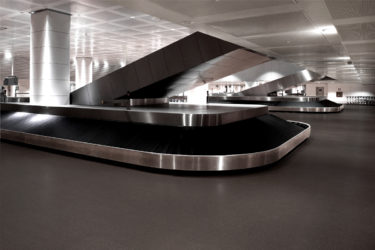 Marco Polo Airport Baggage Claim With Rubber Flooring