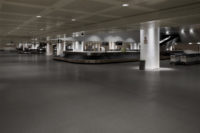 Empty Baggage Claim at Marco Polo Airport