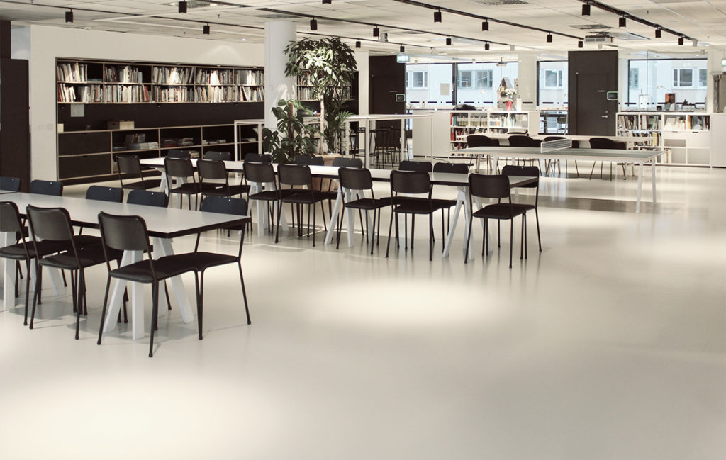 Chairs in Common Area at Tengbom Arkitekter Officies