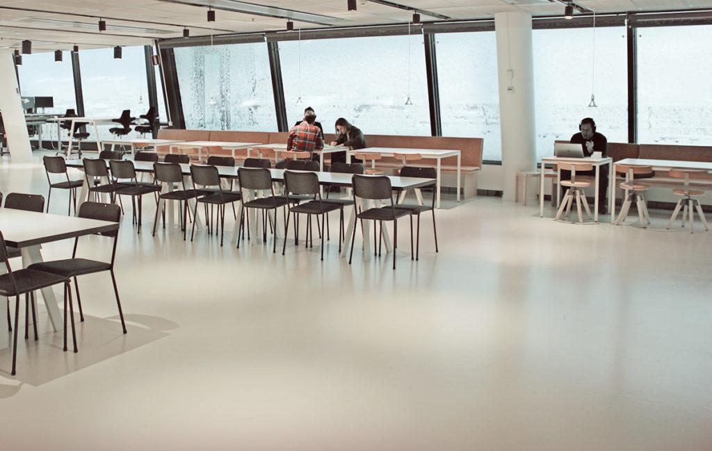 Common Area at Tengbom Arkitekter Office
