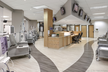 Pickering dialysis management clinic with Mondo rubber flooring