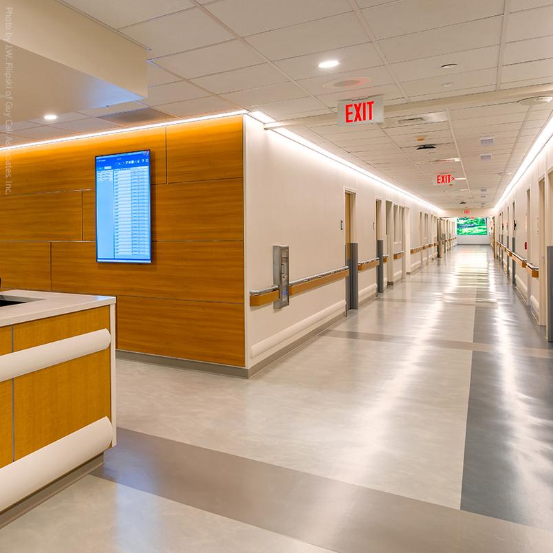 Applications for Hospital Rubber Flooring   Mondo Contract Flooring